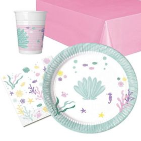 Party Under The Sea Party Tableware Pack for 8