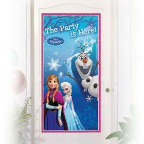 Frozen Party Door Decorations