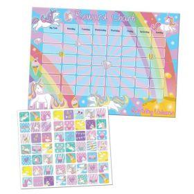 Unicorn Reward Chart & Stickers
