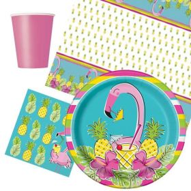 Flamingo Tableware Party Packs