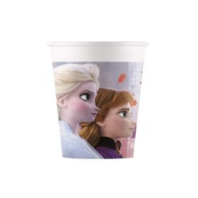Disney Frozen 2 Party Cups 200ml, pk8