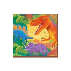 Dinosaur Prehistoric Party Napkins