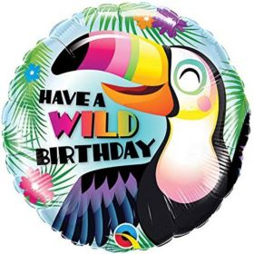 Have a Wild Birthday Foil Balloon 18""