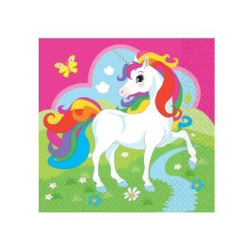 Unicorn Luncheon Napkins Pk20