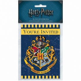 Harry Potter Invitations, pk8