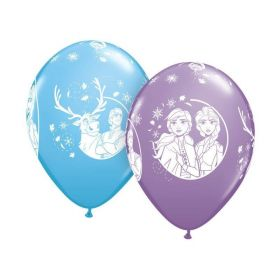 "Disney Frozen 2 Latex Balloons 12"", pk6"