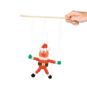Make Your Own Christmas Puppets