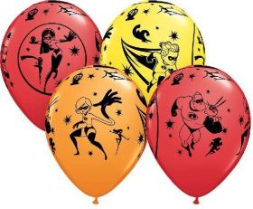 The Incredibles 2 Latex Balloons, pk6