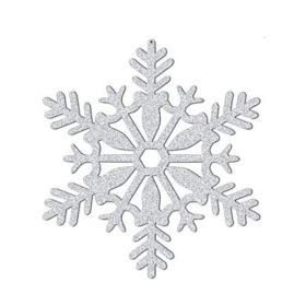 Glitter Snowflake Hanging Decoration