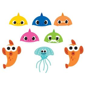 Baby Shark Party Masks, pk8