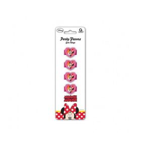 Minnie Mouse Gem Rings, pk4