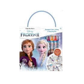 Dsieny Frozen 2 Bumper Carry Along Colouring Set