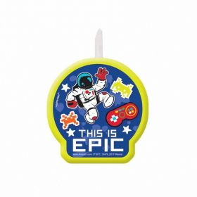 Epic Party Candle 6cm