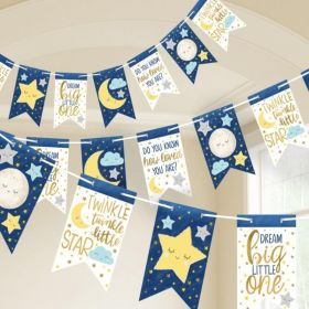 Twinkle Little Star Pennant Banner 4.57m