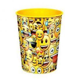 Smile Emoji 16oz Plastic Cup
