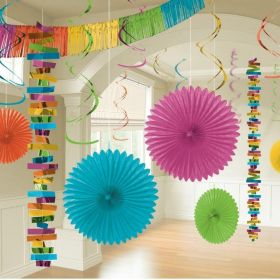 Multi Colour Room Decoration Kit, pk18