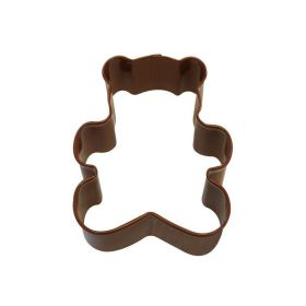 Teddy Bear Brown Cookie Cutter 7.6cm