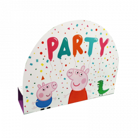 Peppa Pig Party Invitations, pk8