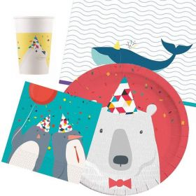 Arctic Party Tableware Party Pack for 8
