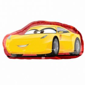 Cars 3 Cruz/ Jackson SuperShape Fil Balloon 35'' x 17''