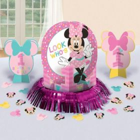 Minnie Mouse Fun to Be One Table Decorations Kit, pk4