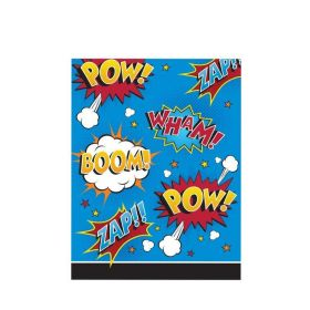 Superhero Slogans Party Bags, pk8