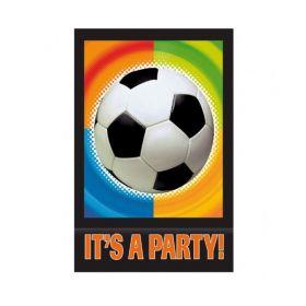 Championship Soccer Invitations, pk8