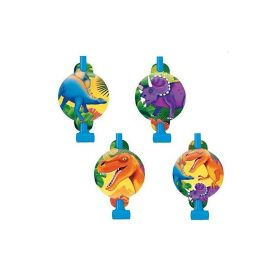 Prehistoric Party Blowouts 8pk