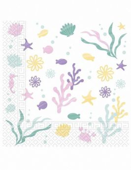 Party Under The Sea Party Napkins, pk20