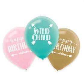 Boho Wild Child Balloons