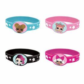 LOL! Surprise Bracelets, pk4