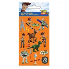 Toy Story 4 Party Bag Stickers, pk6