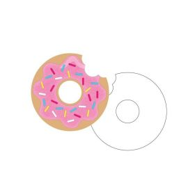 Donut Time Invitations, pk8