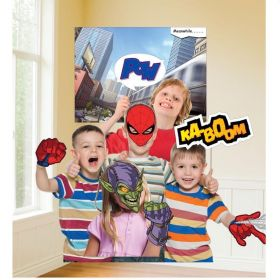 Spiderman Photo Props, pk12