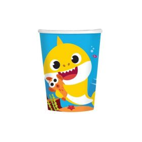 Baby Shark Cups 266ml, pk8