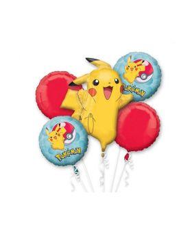 Pokemon Bouquet Foil Balloons