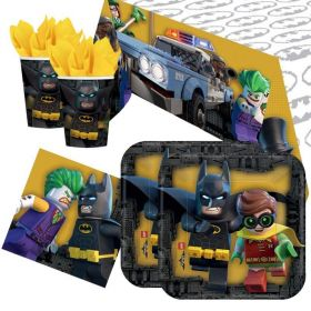 LEGO Batman Party Tableware Pack for 16