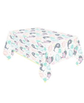Narwhal Party Tablecover 1.2m x 1.8m