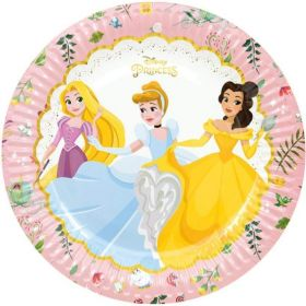 Disney Princess True Party Plates 23cm, pk8