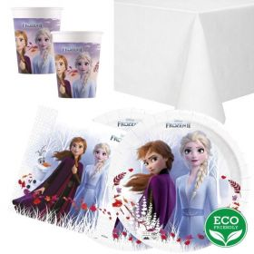 Frozen 2 Destiny Awaits Party Tableware Pack for 16