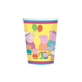 Peppa Pig Cups 266ml, pk8