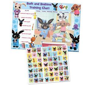 Bing Bath and Bedtime Reward Chart & Stickers