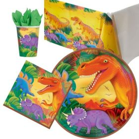 Dinosaur Prehistoric Tableware Packs