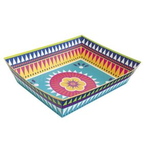 Boho Mexican Fiesta Paper Snack Tray 34cm x 26cm