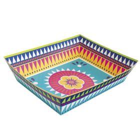 Boho Mexican Fiesta Paper Snack Tray 34cm x 26cm