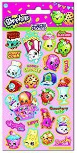 Shopkins Fun Foiled Sticker Strip