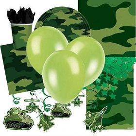 Camouflage Ultimate Party Kit