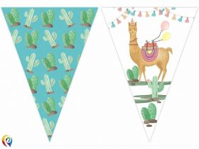 LLama Party Flag Banner 2.3m