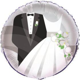 Silver Wedding Foil Balloon