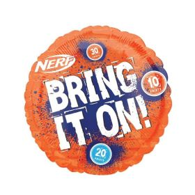 NERF Party Standard Foil Balloon 18""
